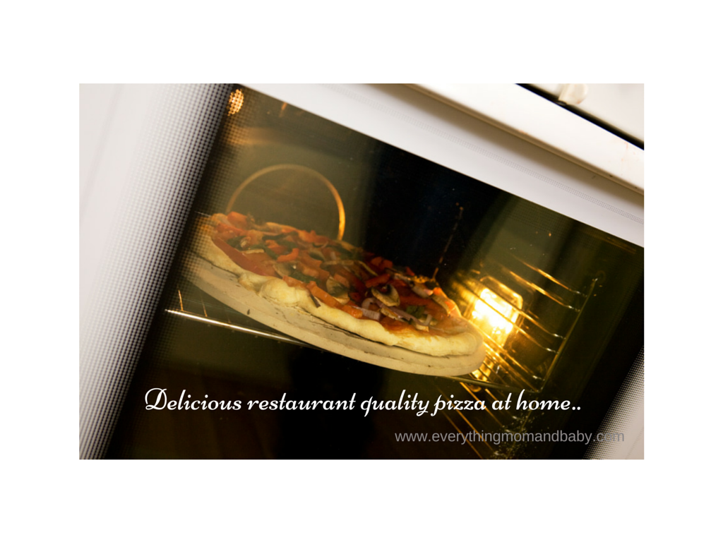 Delicious restaurant quality pizza at